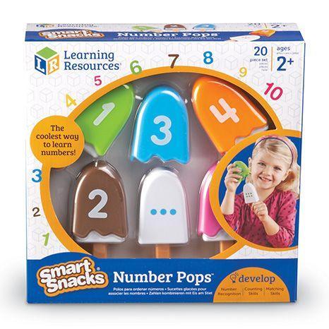 Inghetata cu cifre - Numberpops - Set educativ 2