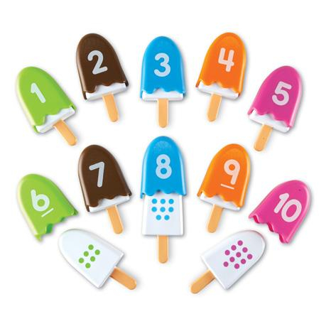 Inghetata cu cifre - Numberpops - Set educativ 1