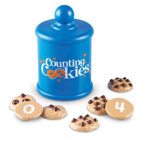 Prajiturele cu numere - Counting Cookies - Set de numarat 1