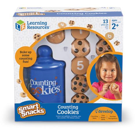 Prajiturele cu numere - Counting Cookies - Set de numarat 2