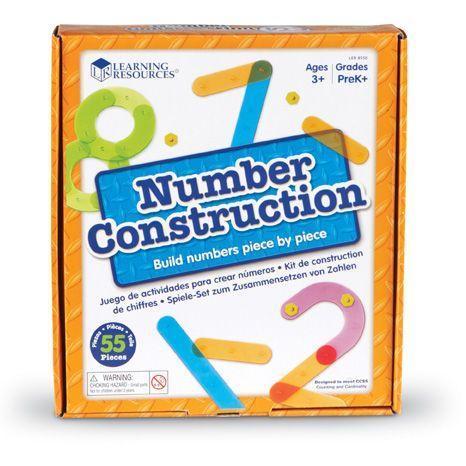 Construieste numere - Set constructie 1
