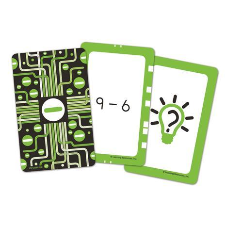 Invata scaderea - Set carti de joc Figuro 0