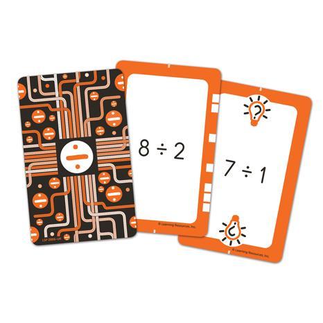 Invata impartirea - Set carti de joc Figuro