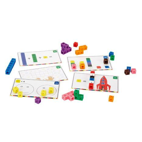 Cuburi interconectabile - Set activitati matematica 0