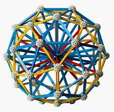 Set stiintific de constructie Zometool - Creator 2 4