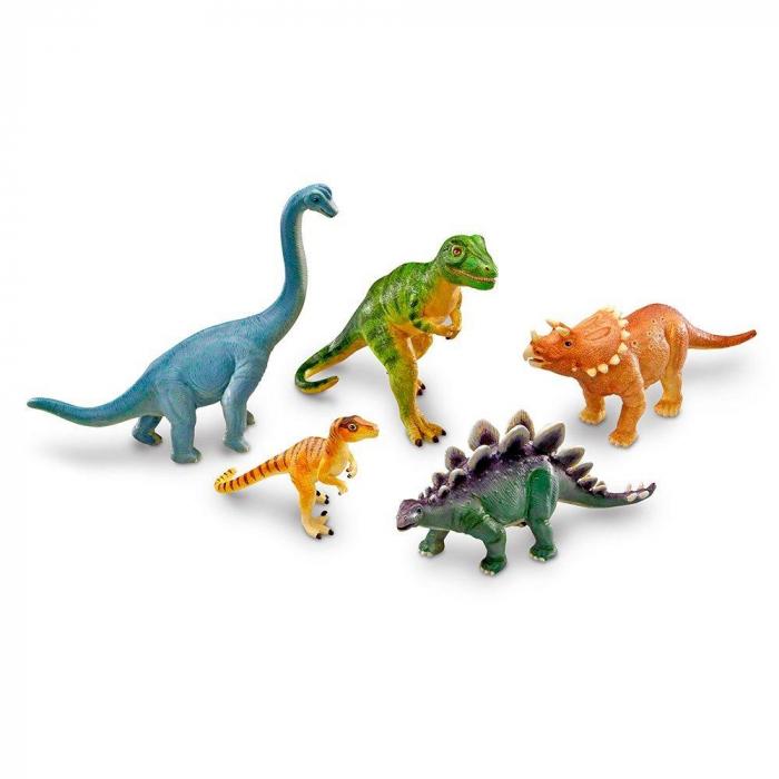 Set dinozauri - figurine mari pentru bebelusi 0