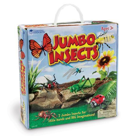 Set insecte - figurine mari pentru bebelusi 2
