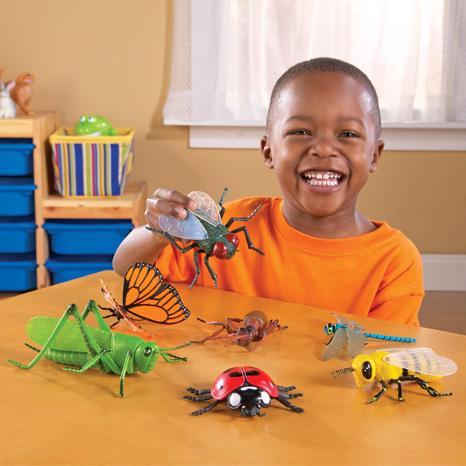 Set insecte - figurine mari pentru bebelusi 3