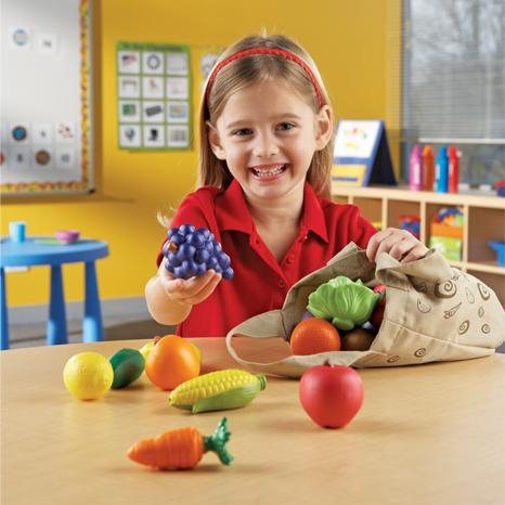 Plasa cu fructe si legume - set sortare