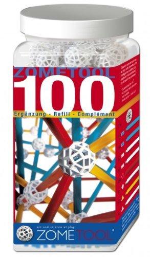 Set stiintific de constructie Zometool - 100 piese extra 0
