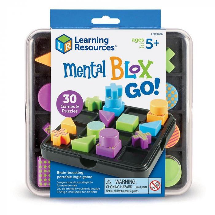 Mental Blox Go! - set educativ de logica