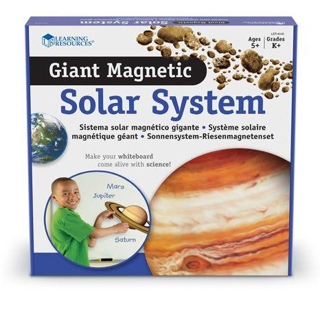 Sistemul solar - Set magnetic educativ