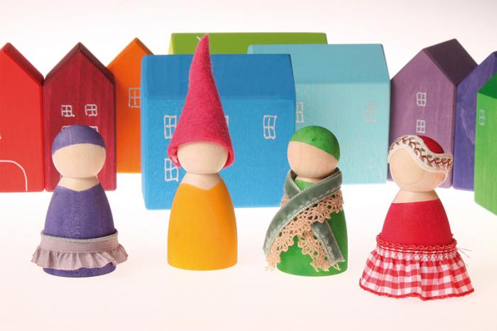 7 prieteni in 7 casute - Set figurine 3