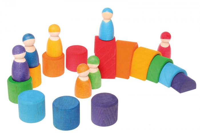 7 prieteni in 7 casute - Set figurine 2