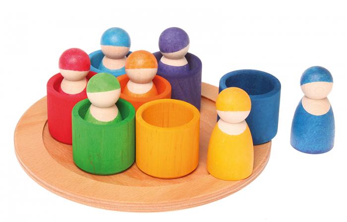 7 prieteni in 7 casute - Set figurine 1