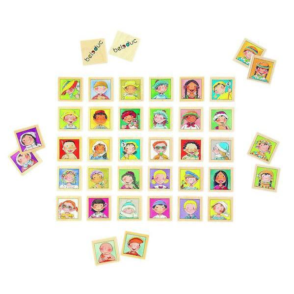 Twinis memo - set stimulare memorie si invatare culori 0