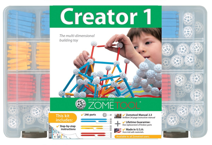 Set stiintific de constructie Zometool - Creator 1 0