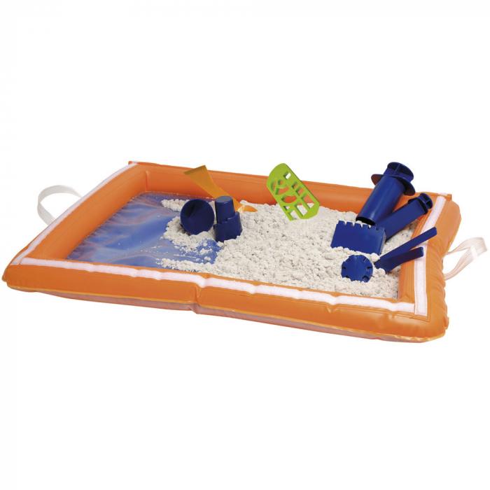 Tavita gonflabila pentru joaca cu nisip kinetic sau alte materiale 2