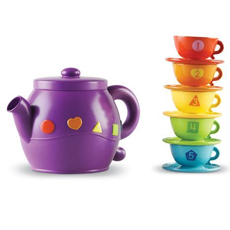 Set de ceai cu forme geometrice