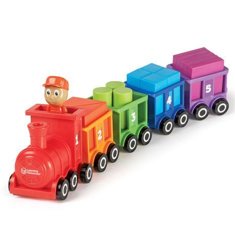 Trenuletul cu numere si culori Choo-Choo
