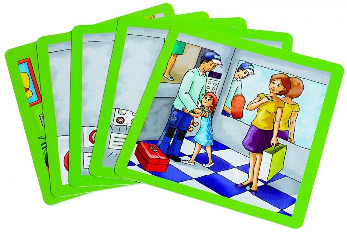 Urgenta sau nu? - set carti de joc ilustrate - cum reactionezi in diferite situatii 4