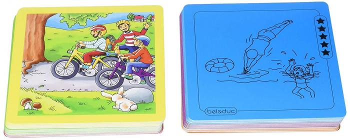 Urgenta sau nu? - set carti de joc ilustrate - cum reactionezi in diferite situatii 8