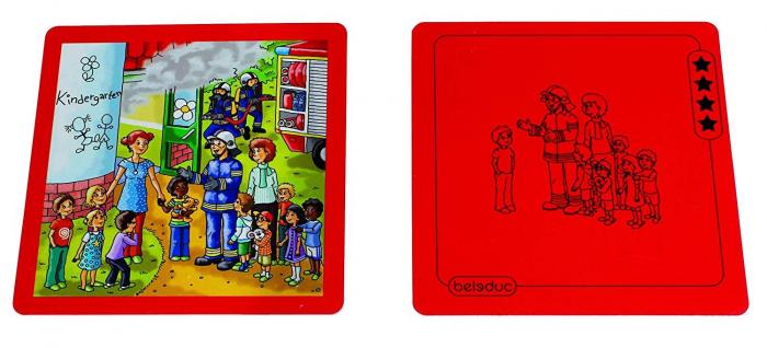 Urgenta sau nu? - set carti de joc ilustrate - cum reactionezi in diferite situatii 7