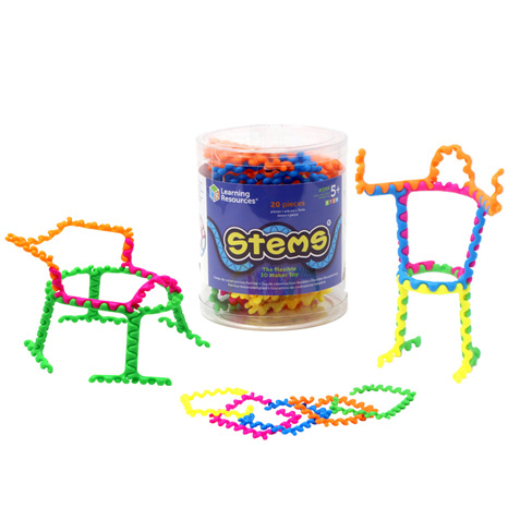 Stems - Set constructie cu piese - 20 de piese 0