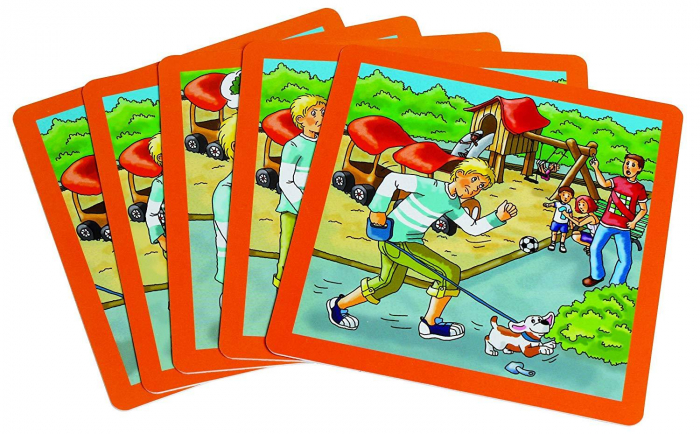 Urgenta sau nu? - set carti de joc ilustrate - cum reactionezi in diferite situatii 2