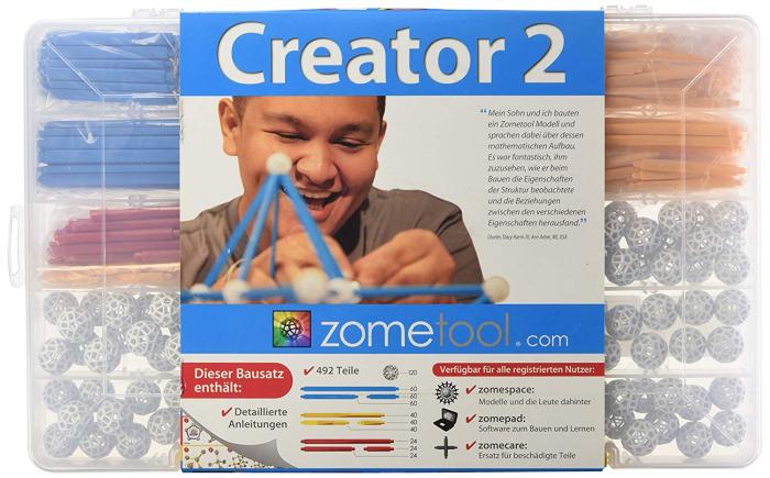 Set stiintific de constructie Zometool - Creator 2 0