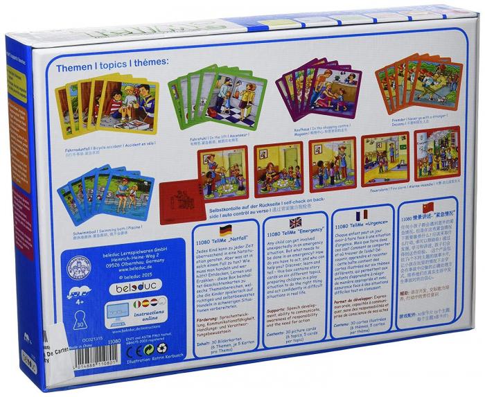 Urgenta sau nu? - set carti de joc ilustrate - cum reactionezi in diferite situatii 9