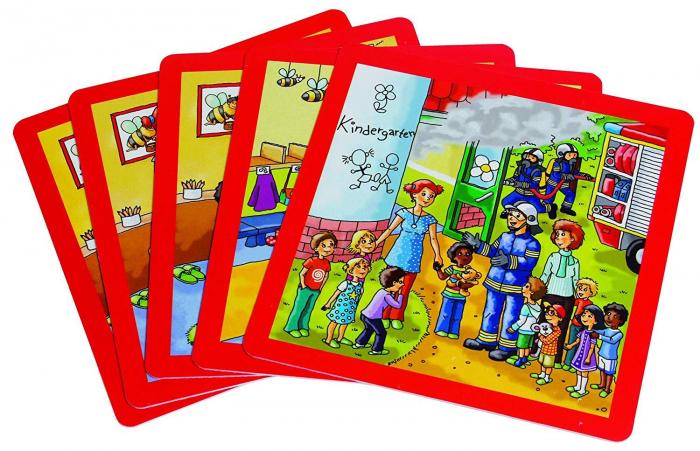 Urgenta sau nu? - set carti de joc ilustrate - cum reactionezi in diferite situatii 6