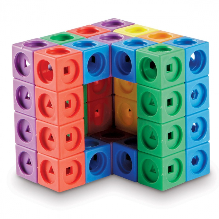 Set MathLink - Constructii 3D din cuburi interconectabile 1