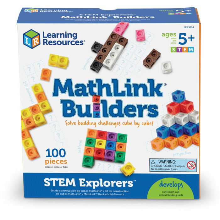 Set MathLink - Constructii 3D din cuburi interconectabile 6