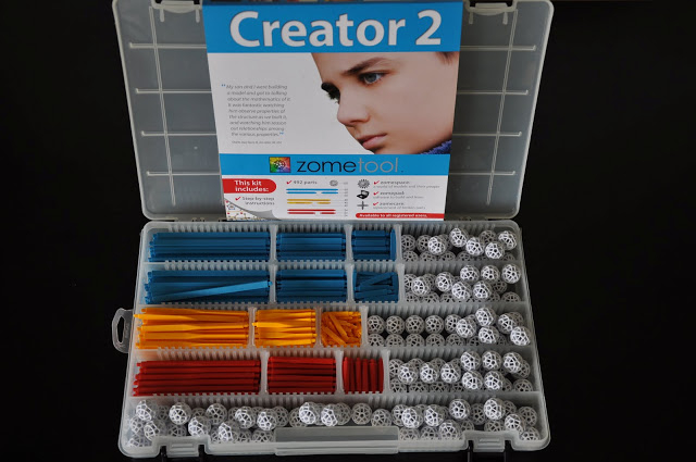 Set stiintific de constructie Zometool - Creator 2 1