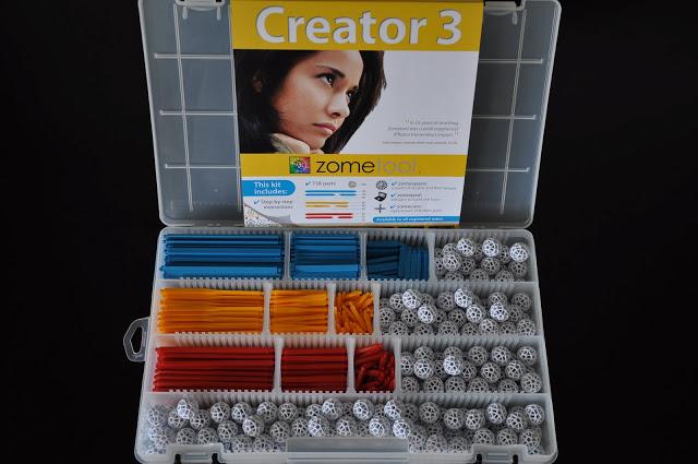 Set stiintific de constructie Zometool - Creator 3 1