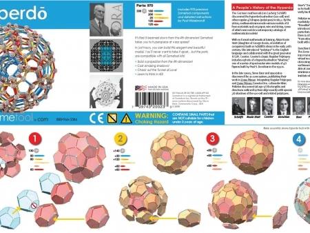 Set stiintific de constructie Zometool - Hyperdo 3