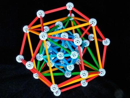 Set stiintific de constructie Zometool - Cosmosului lui Kepler 1