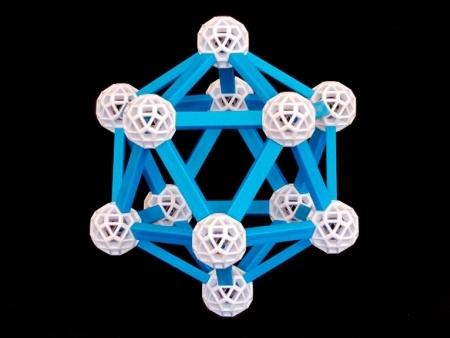 Set stiintific de constructie Zometool - Cosmosului lui Kepler 4