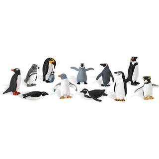 Pinguini - Set figurine in tub
