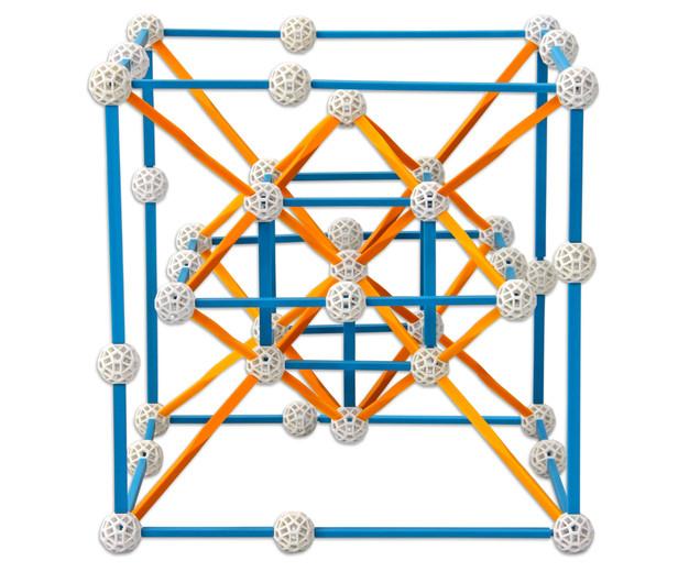 Set stiintific de constructie Zometool - Creator 3 4