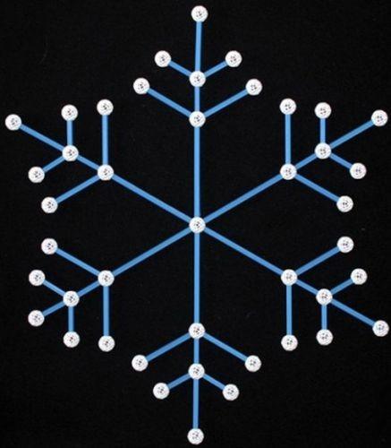 Set stiintific de constructie Zometool - Fulgi de nea si cristale