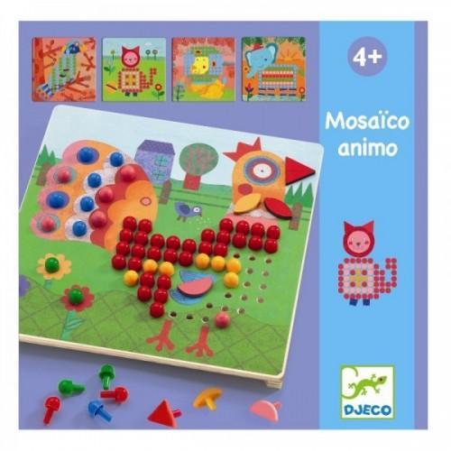 Mozaic animo - Joc cu piuneze 1