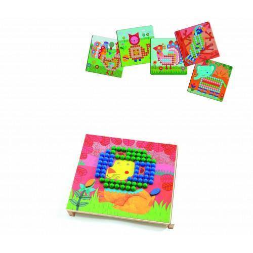 Mozaic animo - Joc cu piuneze 2