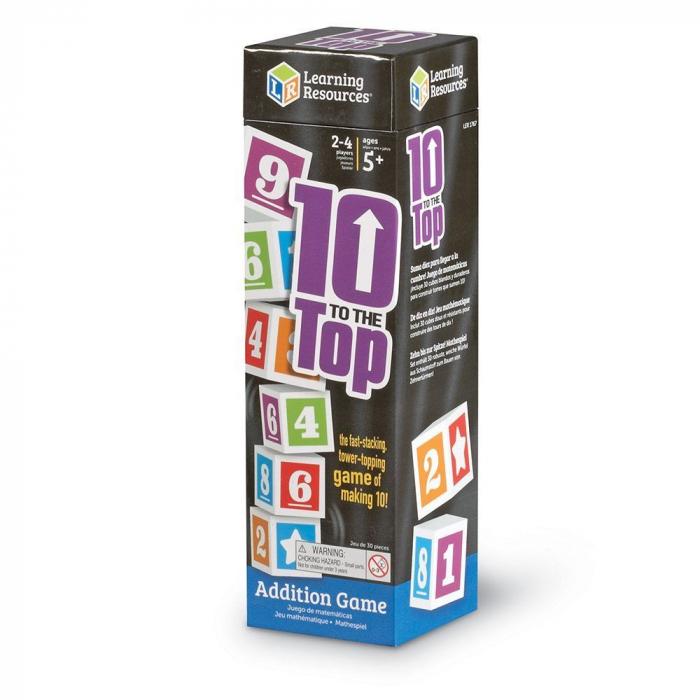 Adunarea de nota 10 - Ten to the top - Joc de matematica [0]