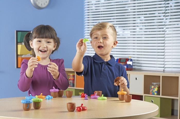 Alfabet cu ghinde - Alphabet acorns - Set educativ 3