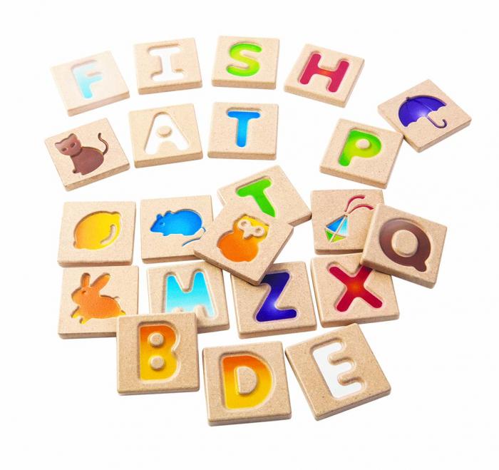 Alfabetul copiilor - Set educativ litere 0