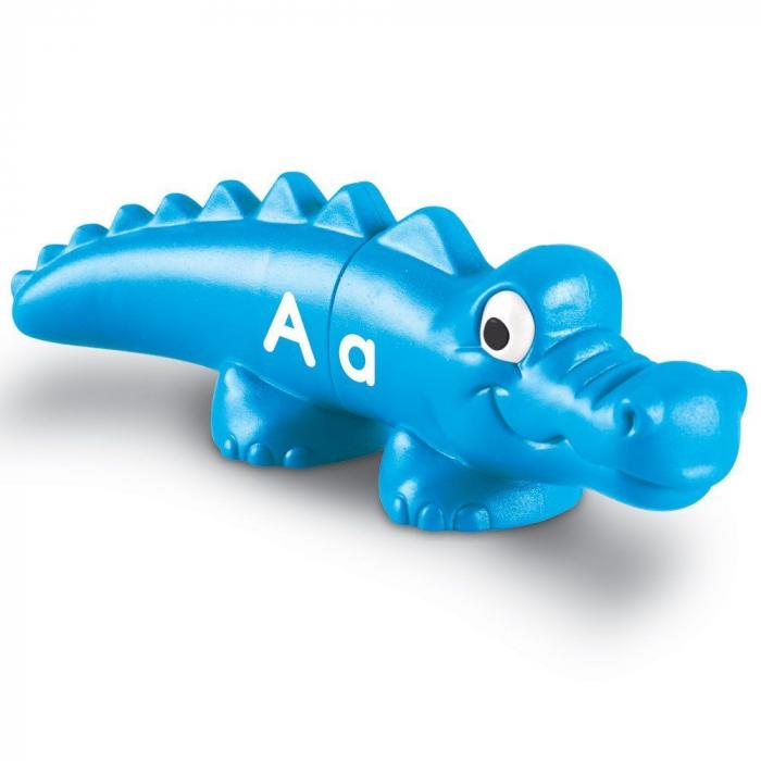 Aligatorii pereche - Set alfabet si culori 4