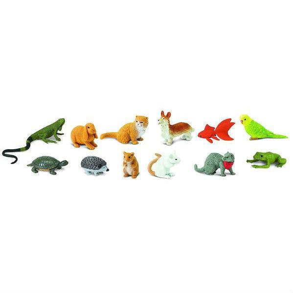 Animale de Companie - Set 12 Figurine 0