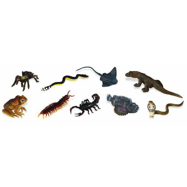 Animale veninoase - Set 12 figurine [0]
